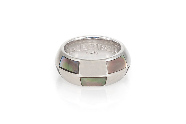 Mauboussin Geometric Ring front ring