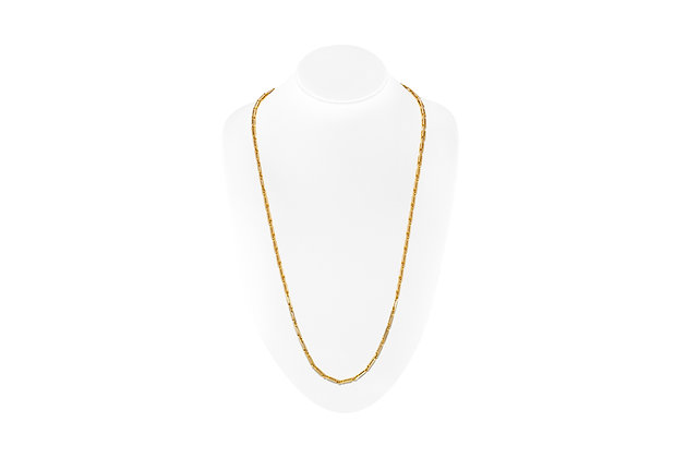 Handmade Gold Chain Full Length View