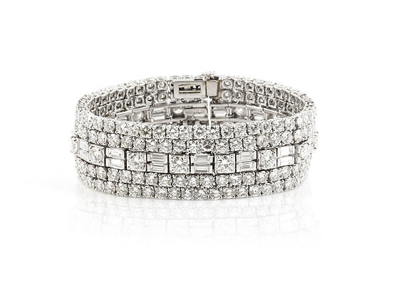 David Webb Diamond Bracelet front