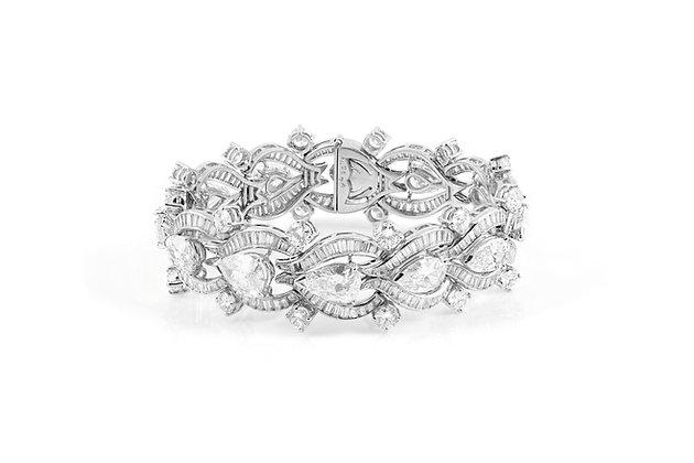 1950's Diamond Bracelet
