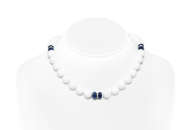 Seaman Schepps White Coral Necklace