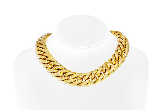 Gourmet Choker Necklace On Neck View