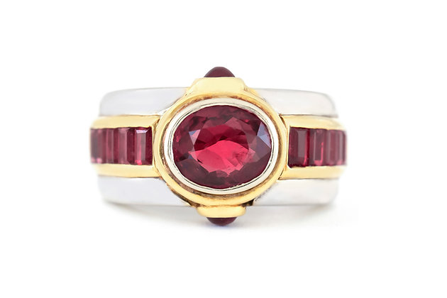 1970s Ruby Ring