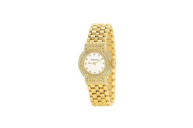 Boucheron Gold and Diamond Watch