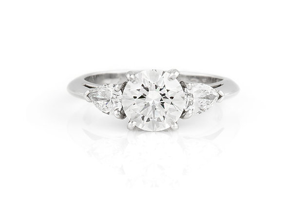 Tiffany & Co. Engagement Ring front