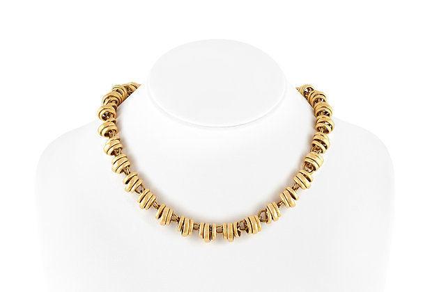 Pomellato Yellow Gold Necklace Front View