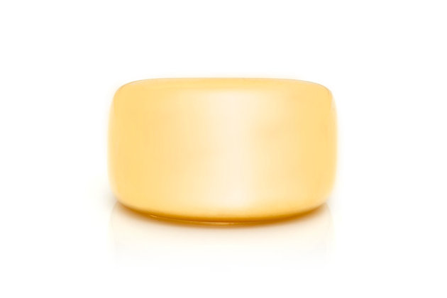 Cartier Unisex Wide Dome Band Ring Front View