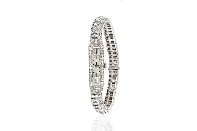 Art Deco Diamond Ladies' Watch front