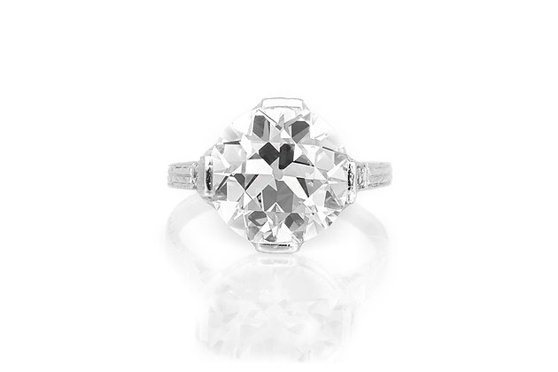 5.15 Art Deco Engagement Ring