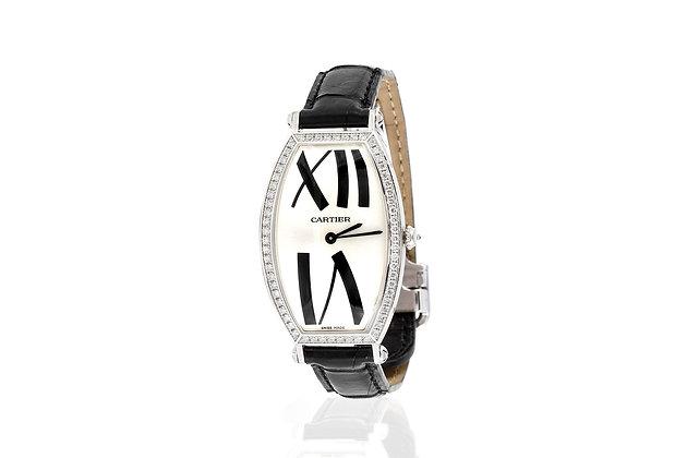 Cartier Tonneau Watch Front View