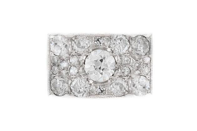 2.50 ct Estate Diamond Ring