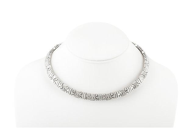 Bvlgari Parentesi Diamond Necklace Front View