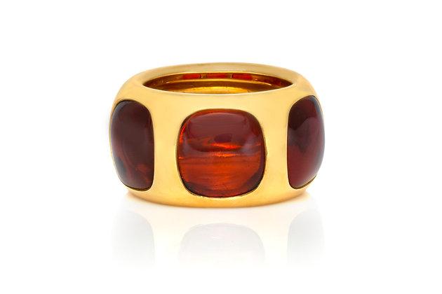 Pomellato Tourmaline Gypsy Ring Front View