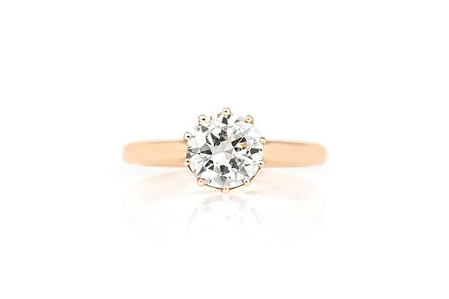 1.13 Carat Victorian Engagement Ring