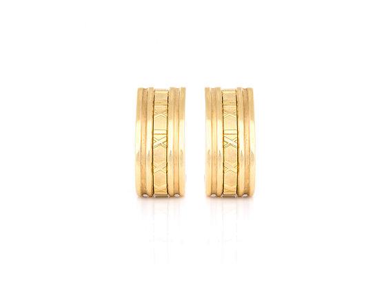 Tiffany & Co. Atlas Earrings front view
