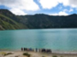 Laguna Quilotoa, Cotopaxi, Ecuador