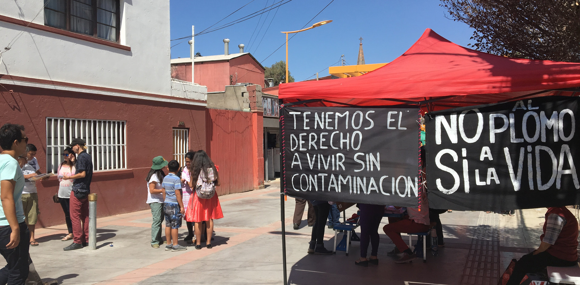Right to live without pollution in Calama, Chile