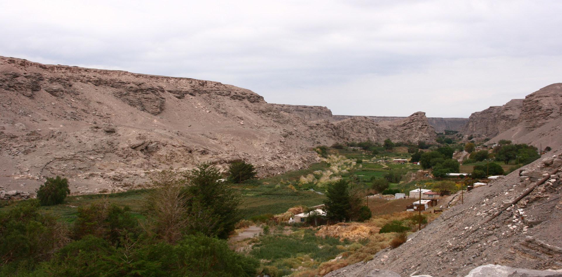 Loa River valley