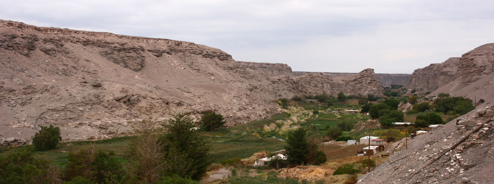 Loa River valley