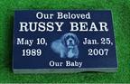 Pet Memorial 1 (Russy Bear)
