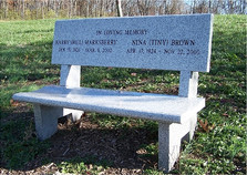 Marksberry-Brown Bench