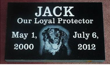 Pet Memorial 9 (Jack)