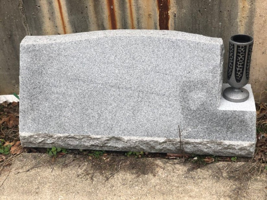 Silver Grey Crest Vase