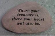 Garden Stone (Treasured Heart)