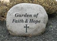 Large Boulder (Faith & Hope)