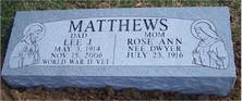Marker 14 (Matthews)