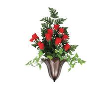 Bronze Monarch Vase $80