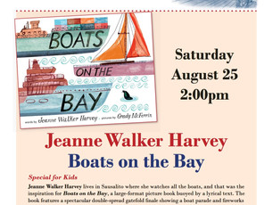 BOATS ON THE BAY book launch at Book Passage By the Bay -Sausalito