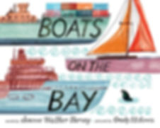 Boats on the Bay children's picture book San Francisco bay