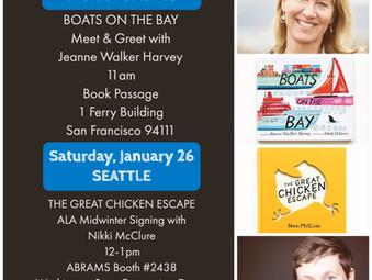 Book Passage Meet & Greet at SF Ferry Building