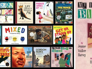 Sonoma Valley Museum of Art book list of Black artists & civil rights heroes