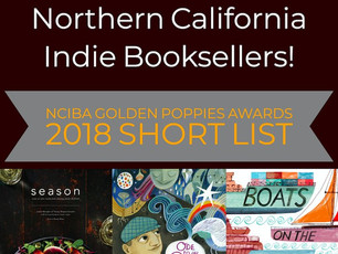 NCIBA Golden Poppies Awards 2018 Short List!