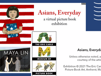 Eric Carle Museum Features Dow Phumurik -  Illustrator of MAYA LIN book