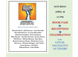 Author Event at Book Passage Sausalito for Indie Bookstore Day!