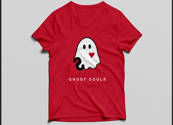 Ghost Souls - Crew Neck - Red