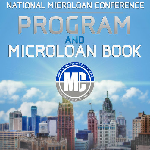 2019 National Microloan Conference Program and Microloan Book