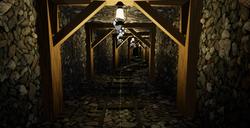 VR Spline Mine lit