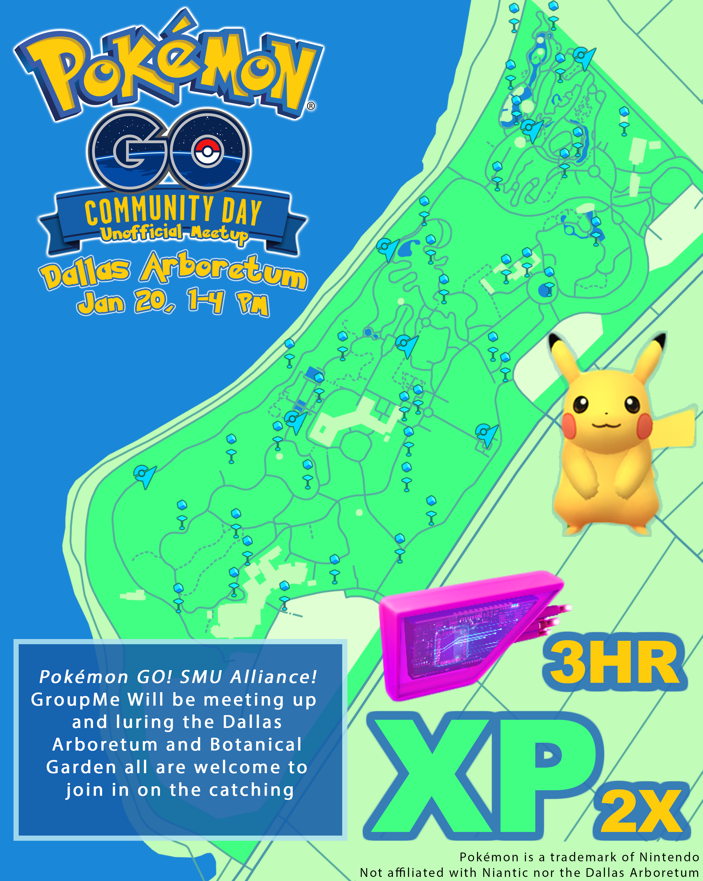 First community day poster