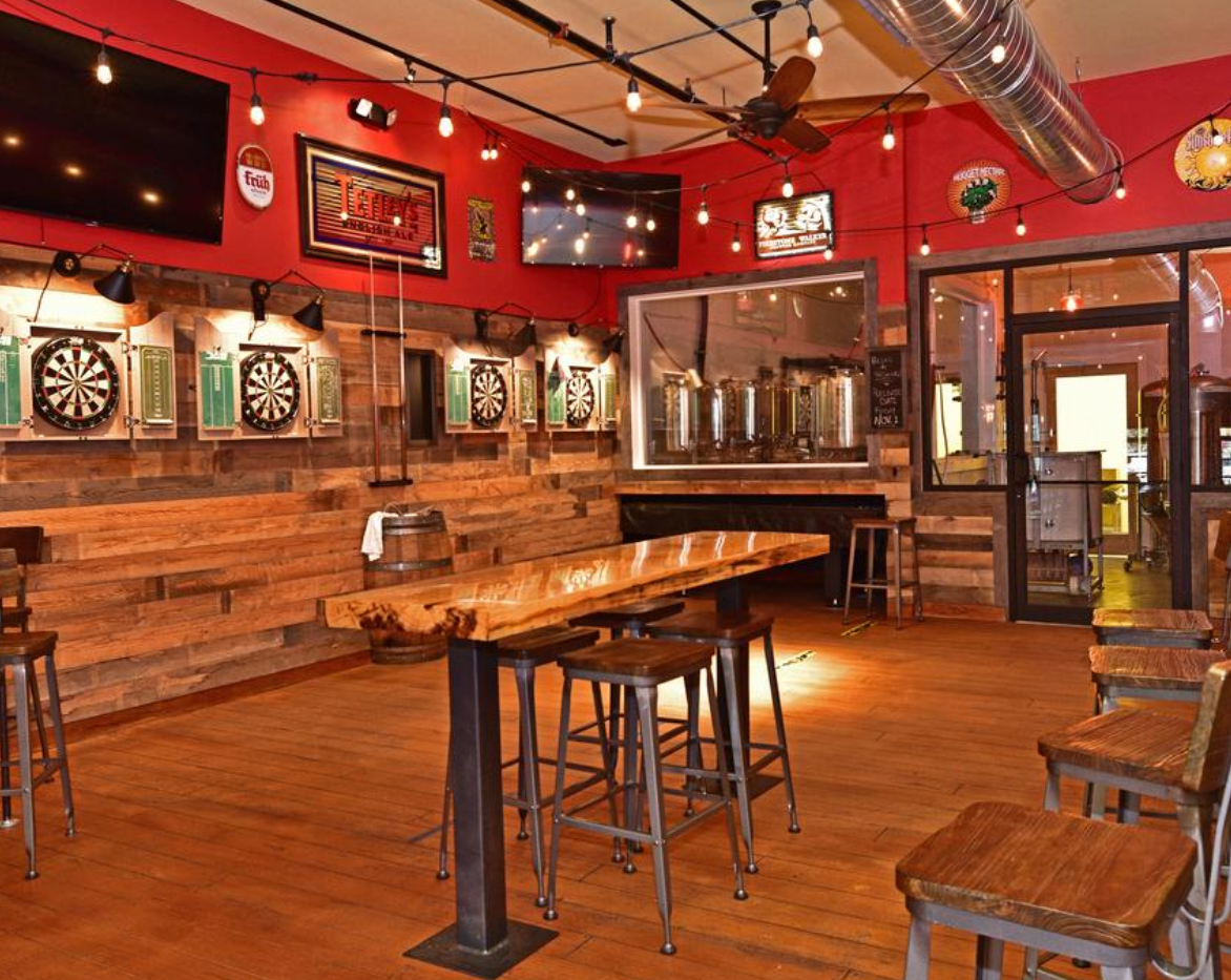 2nd Floor - Rear Area and Brewery