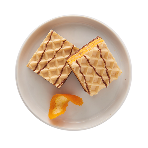 Orange Creme Wafer