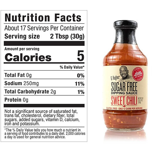 G Hughes Sweet Chili Sauce