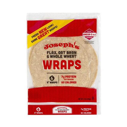 Flax/Oat Whole Wheat Wraps