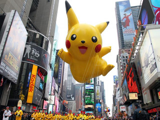 Macy's` Thanksgiving Day parade!