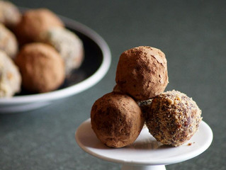 Dates Peanut Chocolate Truffles