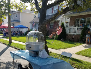 Chocolate Terrace for a local neighborhood block party on Staten Island New York!
