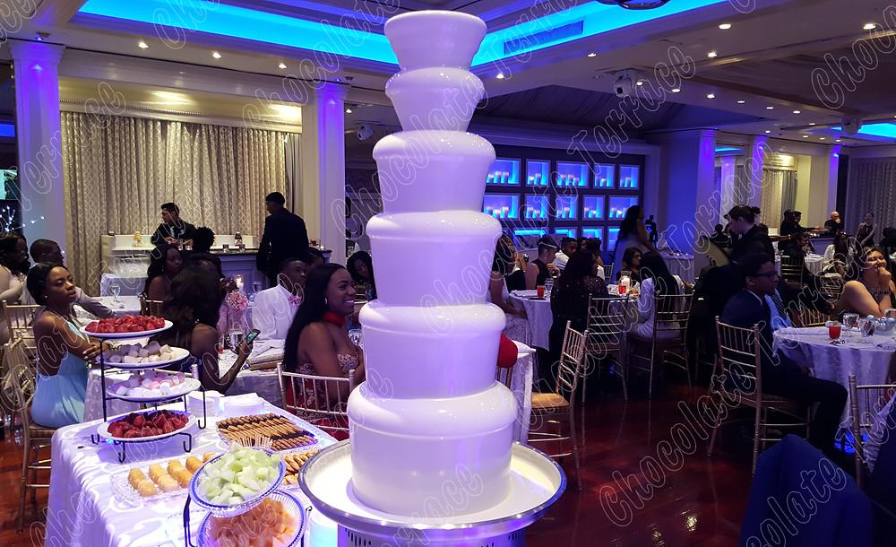 Best premium New Jersey chocolate fondue fountain rent